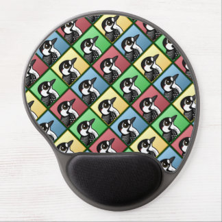 Four Color Red-cockaded Woodpecker Gel Mouse Pad