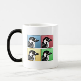 Four Color Red-cockaded Woodpecker Magic Mug