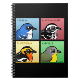 Four Color Warblers Notebook