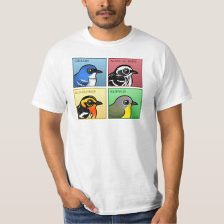 Four Color Warblers T-Shirt