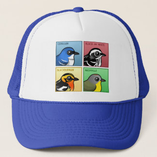 Four Color Warblers Trucker Hat