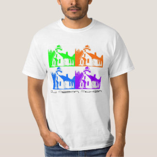 Four Colored Old Mission Lighthouse T-Shirt