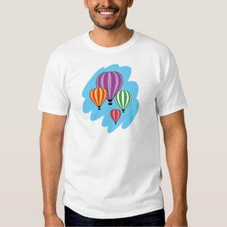 Four Colorful Hot Air Balloons T Shirt