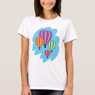 Four Colorful Hot Air Balloons T-Shirt