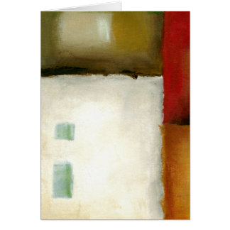 Four Colorful Rectangles by Chariklia Zarris Card