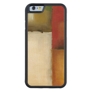 Four Colorful Rectangles by Chariklia Zarris Carved Maple iPhone 6 Bumper Case