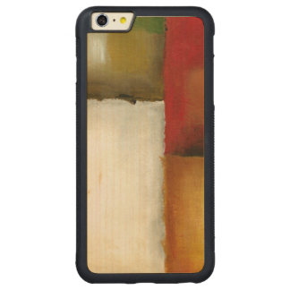 Four Colorful Rectangles by Chariklia Zarris Carved Maple iPhone 6 Plus Bumper Case
