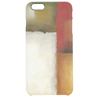 Four Colorful Rectangles by Chariklia Zarris Clear iPhone 6 Plus Case