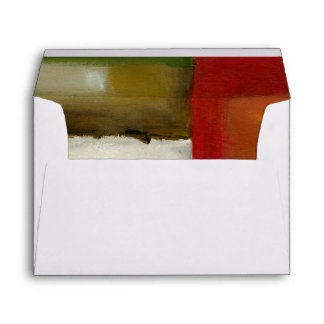 Four Colorful Rectangles by Chariklia Zarris Envelope