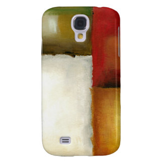 Four Colorful Rectangles by Chariklia Zarris Galaxy S4 Cover
