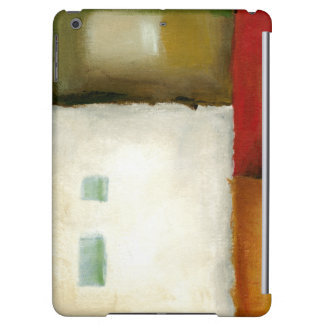 Four Colorful Rectangles by Chariklia Zarris iPad Air Cover