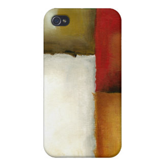 Four Colorful Rectangles by Chariklia Zarris iPhone 4/4S Cover