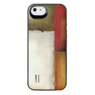 Four Colorful Rectangles by Chariklia Zarris iPhone SE/5/5s Battery Case