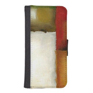 Four Colorful Rectangles by Chariklia Zarris iPhone SE/5/5s Wallet