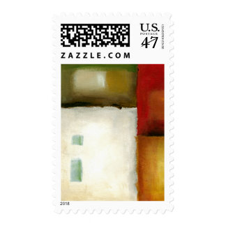 Four Colorful Rectangles by Chariklia Zarris Postage