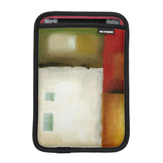 Four Colorful Rectangles by Chariklia Zarris Sleeve For iPad Mini