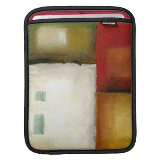 Four Colorful Rectangles by Chariklia Zarris Sleeve For iPads