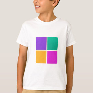 FOUR COLORFUL SQUARES: Elegant GIFTS lowprice T-Shirt