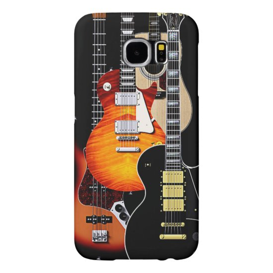 Four Cool Guitars Samsung Galaxy S6 Case