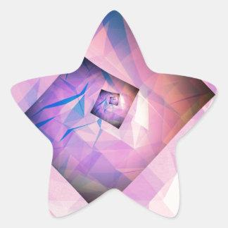 Four Corner Wheel Star Sticker