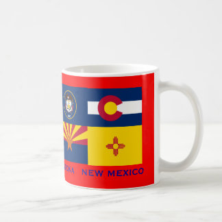 Four Corners* Flags Mug