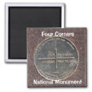 Four Corners National Monument Magnet