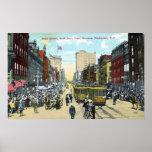 Four Corners Parade 1911 Print