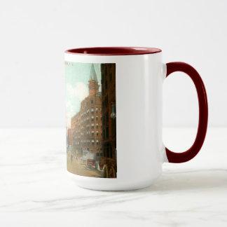Four Corners, Rochester, New York Vintage Mug