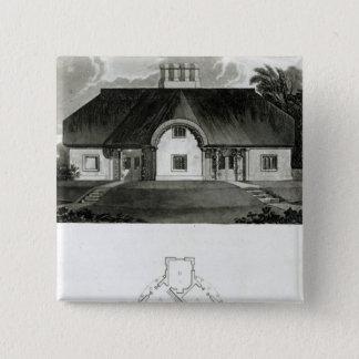 Four Cottages, 1818 Button