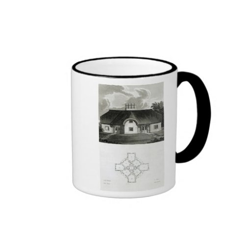 Four Cottages, 1818 Ringer Coffee Mug