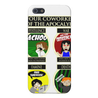 Four Coworkers Of The Apocalypse iPhone 5 Covers