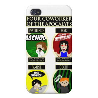 Four Coworkers Of The Apocalypse iPhone 4/4S Cover