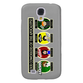 Four Coworkers Of The Apocalypse Samsung Galaxy S4 Cover