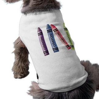 Four Crayons Pet Tee