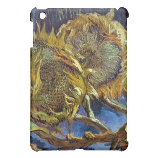 Four Cut Sunflowers Painting Vincent van Gogh Case For The iPad Mini