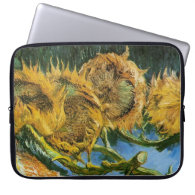 Four Cut Sunflowers, Vincent van Gogh Computer Sleeves