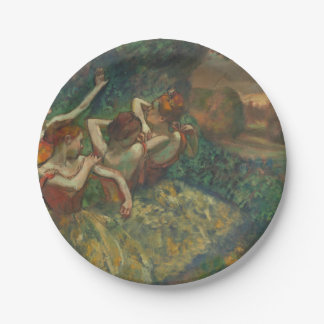 Four Dancers by Degas Paper Plates