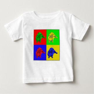 Four Dax Pop Art Baby T-Shirt