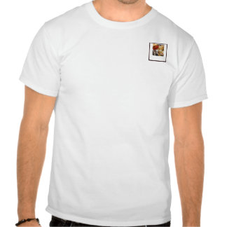 Four Dessert Panel on Chocolate Brown T Shirts