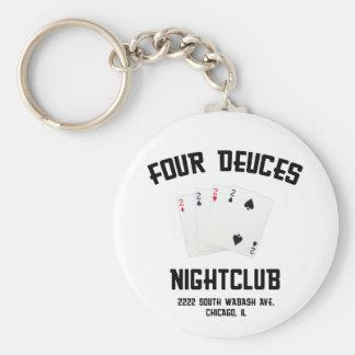 Four Deuces Keychains