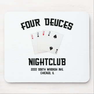 Four Deuces Mouse Pad