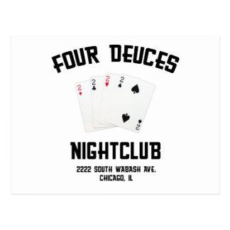 Four Deuces Postcard