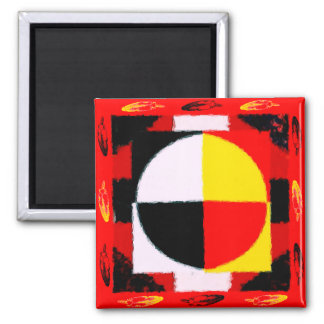 Four Directions Magnet