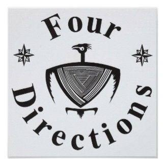 Four Directions Thunderbird Posters