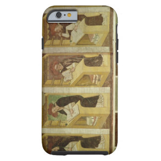 Four Dominican Monks at their Desks, from the cycl Tough iPhone 6 Case