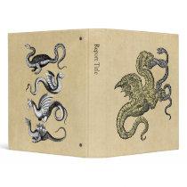 Four Dragons Binder