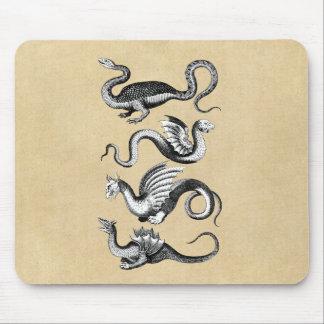 Four Dragons Mousepad