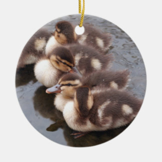 Four Ducklings Ornament