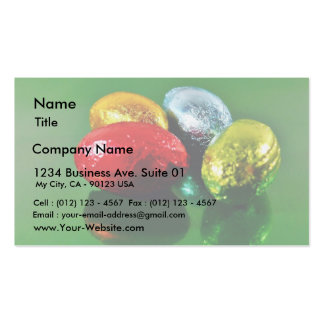 Four Easter Eggs Business Cards
