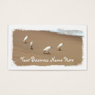 Four Egrets Business Card
